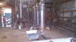 Pengering ampas kelapa